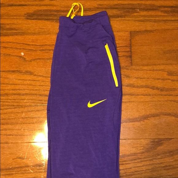 nike pants purple